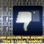 Time to Logout from FaceBook – Data Privacy Issue