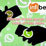 Infibeam Plung -Victim of WhatsApp Fake News !
