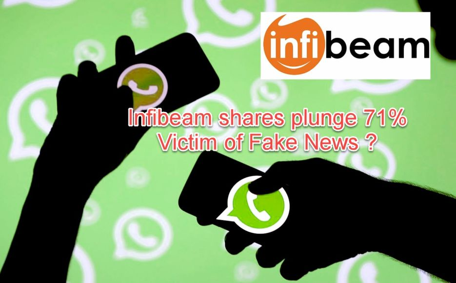 Infibeam Victim of WhatsApp Fake News !
