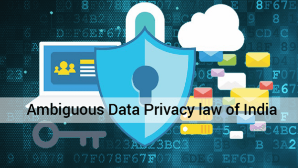 ambiguity on privacy law